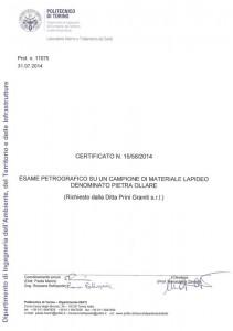 certification stéatite pg1