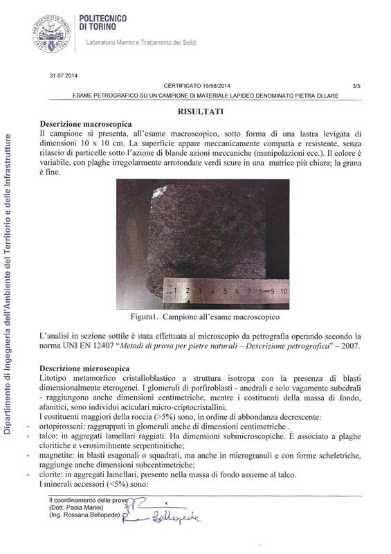 certificazione pietra ollare pg3
