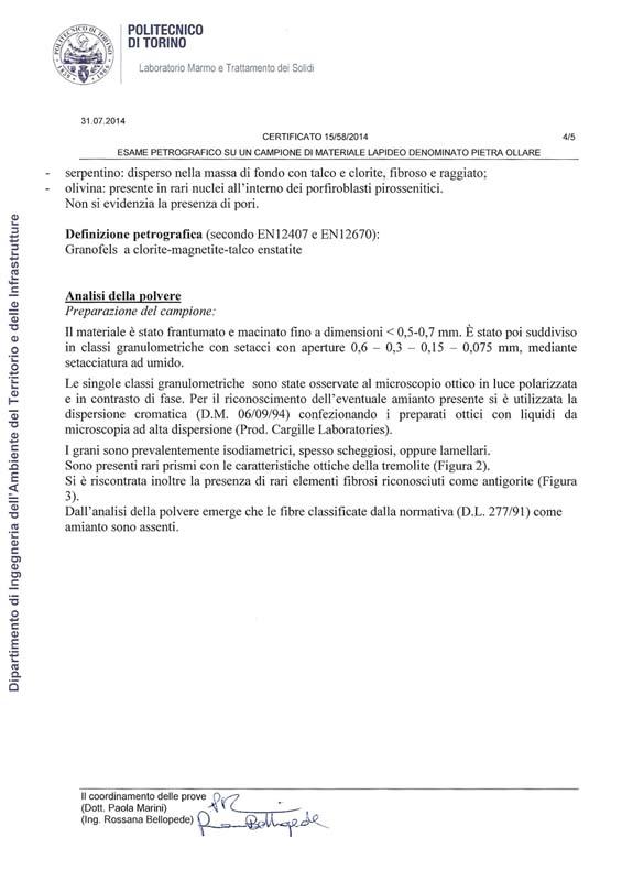certificazione pietra ollare pg4